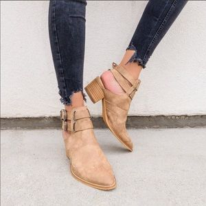 Western boho bootie mule Size 7